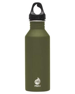 ARMY GREEN MENS ACCESSORIES MIZU DRINKWARE - Z-M05AMZASAAARMGN