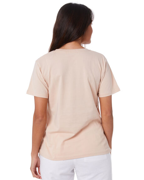 BLUSH WOMENS CLOTHING NUDE LUCY TEES - NU24111BLUSH