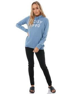 BLUE SHADOW WOMENS CLOTHING ROXY JUMPERS - ERJFT03728BKQ0