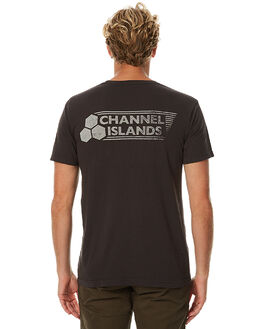 BLACK MENS CLOTHING CHANNEL ISLANDS TEES - 19395100106BLK