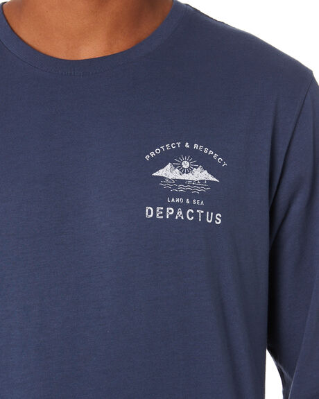 GRAPHITE MENS CLOTHING DEPACTUS TEES - D5204103GRAPH