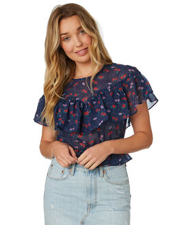 NAVY WOMENS CLOTHING THE FIFTH LABEL FASHION TOPS - 40181028-1NVY
