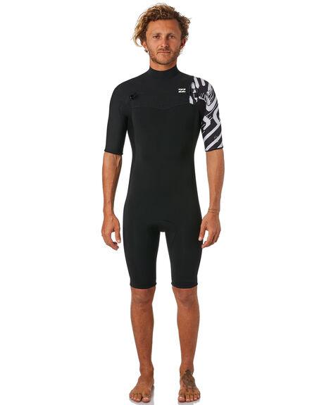 BLACK PRINT BOARDSPORTS SURF BILLABONG MENS - 9781420BLKPR