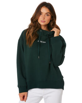 DARK GREEN WOMENS CLOTHING RPM JUMPERS - 9WWT07A2GRN