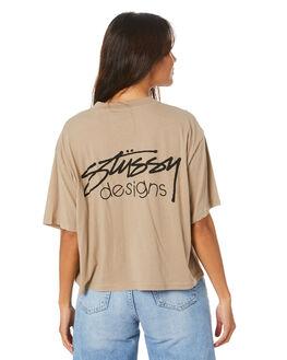 ATMOSPHERE WOMENS CLOTHING STUSSY TEES - ST105002ATMO