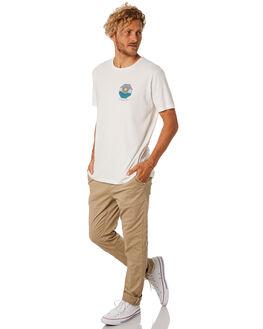 WHITE MENS CLOTHING KATIN TEES - TSSOL02WHT