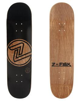 BLACK SKATE DECKS Z FLEX  - ZFX1000BLK