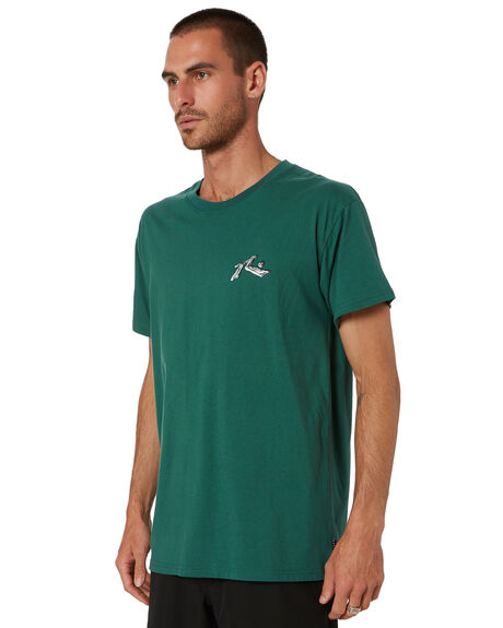 WASHED GREEN MENS CLOTHING RUSTY TEES - TTM2454WAG