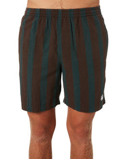 TEAL MENS CLOTHING STUSSY BOARDSHORTS - ST091600TEAL