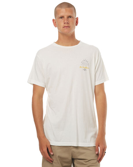 WHITE MENS CLOTHING KATIN TEES - TSBIGF16WHT