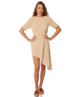 LATTE WOMENS CLOTHING ZULU AND ZEPHYR DRESSES - ZZ2083LAT