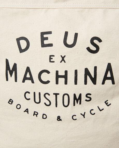 NATURAL MENS ACCESSORIES DEUS EX MACHINA BAGS + BACKPACKS - DMF77777NAT