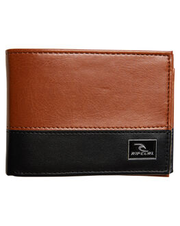 TAN MENS ACCESSORIES RIP CURL WALLETS - BWUJU21046