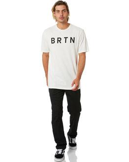STOUT WHITE MENS CLOTHING BURTON TEES - 20375102100