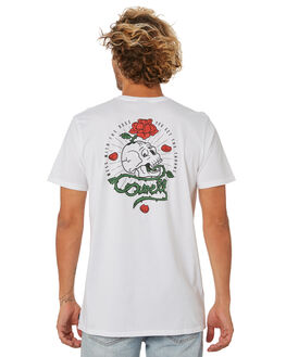 WHITE MENS CLOTHING SWELL TEES - S5202020WHITE