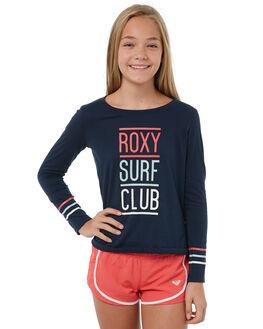 DRESS BLUES KIDS GIRLS ROXY TEES - ERGZT03283BTK0