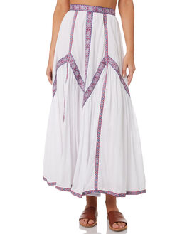 WHITE OUTLET WOMENS TIGERLILY SKIRTS - T393277WHT