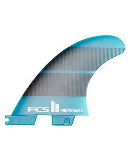 TEAL GRADIENT BOARDSPORTS SURF FCS FINS - FPER-NG03-MD-QS-RTEA