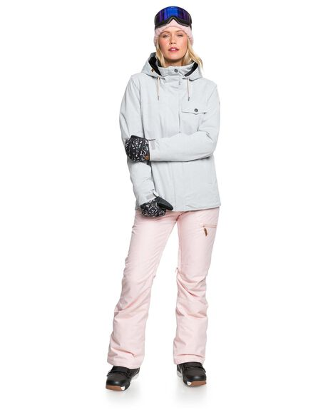 HEATHER GREY BOARDSPORTS SNOW ROXY WOMENS - ERJTJ03283-SJEH