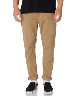 CAMEL CORD MENS CLOTHING ROLLAS PANTS - 15361B466