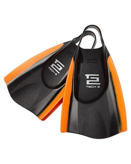 BLACK ORANGE SURF BODYBOARDS HYDRO ACCESSORIES - TTWO-BLO-BLO