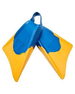 BLUE YELLOW BOARDSPORTS SURF NMD BODYBOARDS ACCESSORIES - N19F1BLUYE