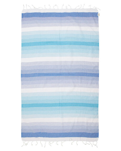 TURQUOISE WOMENS ACCESSORIES MAYDE TOWELS - 16EDENTOCTUR