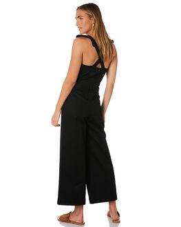 BLACK WOMENS CLOTHING BILLABONG PLAYSUITS + OVERALLS - 6595507BLK