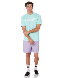 LIGHT YUCCA WHITE MENS CLOTHING CARHARTT TEES - I02477202V