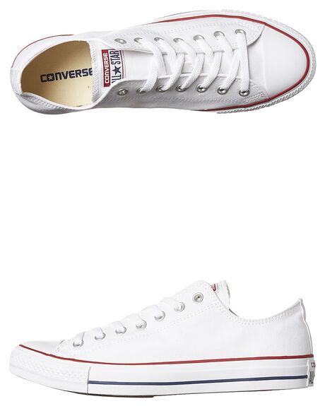 08bca926e6b Converse Mens Chuck Taylor All Star Lo Shoe - Optical White