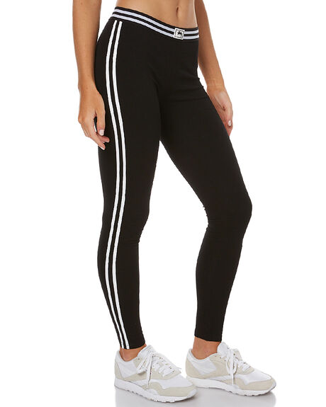BLACK WOMENS CLOTHING STUSSY ACTIVEWEAR - ST176608BLK