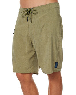 OLIVE HEATHER MENS CLOTHING DEPACTUS BOARDSHORTS - AM010008OLIH