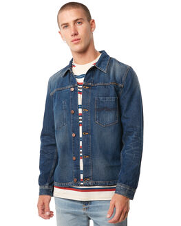 WORN ATHLETIC MENS CLOTHING NUDIE JEANS CO JACKETS - 160536B26