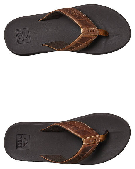 BROWN TAN MENS FOOTWEAR REEF THONGS - 2025BTN