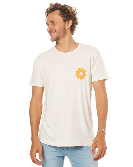 NATURAL MENS CLOTHING MOLLUSK TEES - MS1539NAT