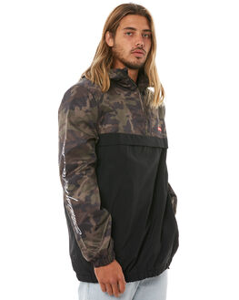 CAMO MENS CLOTHING STUSSY JACKETS - ST081503CAMO