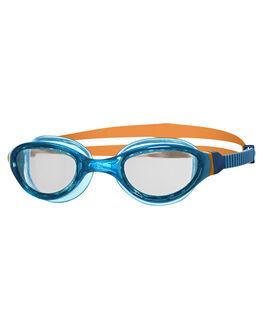 BLUE ORANGE BOARDSPORTS SURF ZOGGS SWIM ACCESSORIES - 301511BLUOR