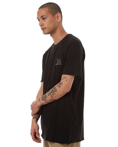 BLACK WHITE MENS CLOTHING SWELL TEES - S5164014BLKWH