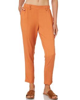 RUST WOMENS CLOTHING BETTY BASICS PANTS - BB807HS18RUST