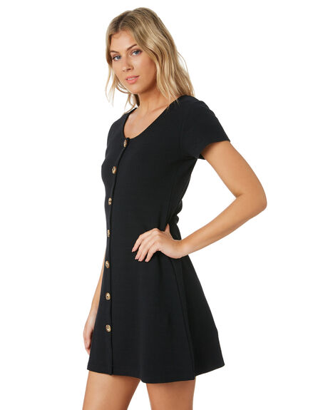 BLACK WOMENS CLOTHING ALL ABOUT EVE DRESSES - 6444012BLK