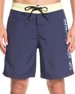 MEDIEVAL BLUE MENS CLOTHING QUIKSILVER BOARDSHORTS - EQYBS04128-BTE0