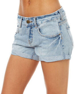 BLUEDAY WOMENS CLOTHING BILLABONG SHORTS - 6571285BLUE