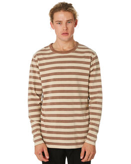 TOBACCO MENS CLOTHING BANKS JUMPERS - WFL0181TOB