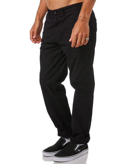 BLACK MENS CLOTHING CARHARTT PANTS - I021155-89BLK