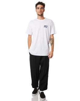 WHITE MENS CLOTHING HUFFER TEES - MTE94S40922WHT