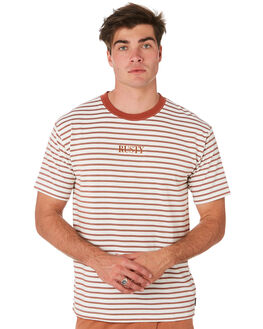 REDWOOD MENS CLOTHING RUSTY TEES - TTM2277RWD