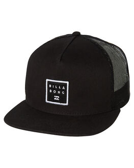 BLACK MENS ACCESSORIES BILLABONG HEADWEAR - 9681319ABLK