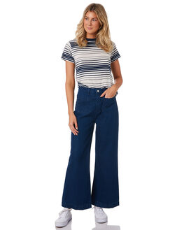 BRIGETTE BLUE WOMENS CLOTHING ROLLAS JEANS - 1247912479