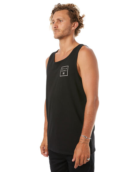 BLACK MENS CLOTHING BILLABONG SINGLETS - 9585508BLK