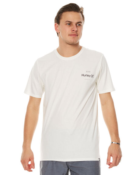 SAIL HEATHER MENS CLOTHING HURLEY TEES - AMTSPSCH11KN